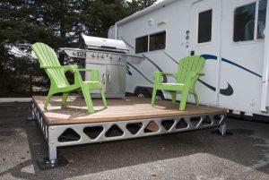 Cedar Decking – 8′x8′ section- Assembled- CanadaDocks