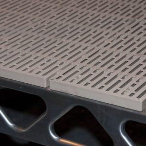 ThruFlow™ – 4′x4′ Interlocking Panels- Profile View- CanadaDocks