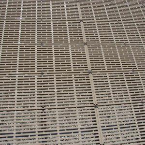 ThruFlow™ – 4′x4′ Interlocking Panels- Top View- CanadaDocks