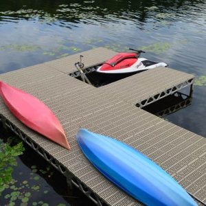 8′x8′ CanadaDocks™ Aluminum Dock Complete Kit with 1′-4′ legs