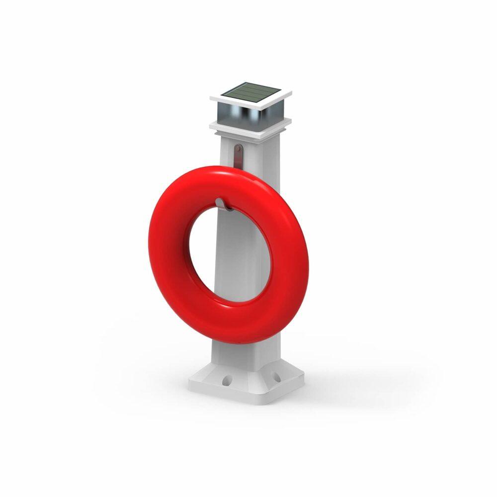 solar safety ring