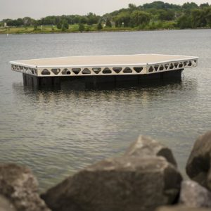 14' x 16' CanadaDocks™ Hexagon Floating Dock Complete Kit