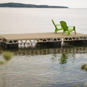 8′x16′ CanadaDocks™ Complete Floating Dock Kit