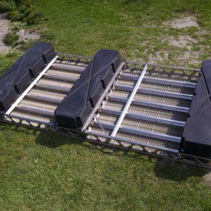 8′x16′ CanadaDocks™ Floating Dock Kit w/o Decking