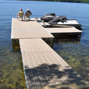 4x8 and 8x8 standing docks