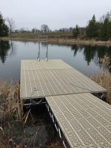 CanadaDocks Dock Install