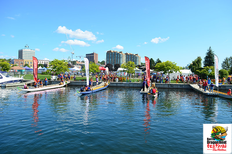 2013 Barrie Dragon Boat Festival- Featured
