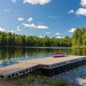 CanadaDocks do it yourself 8x24 floating dock