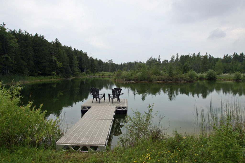 CanadaDocks™ Floating Dock View