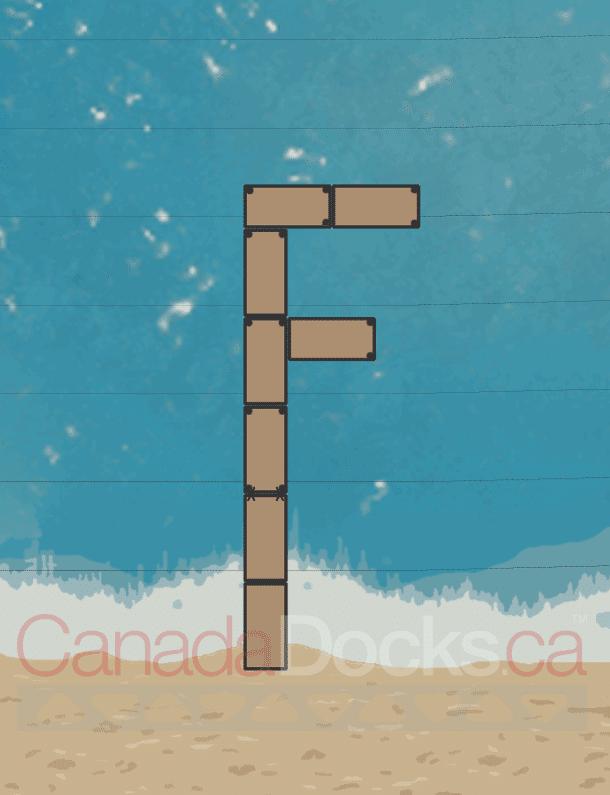 Standing F Dock