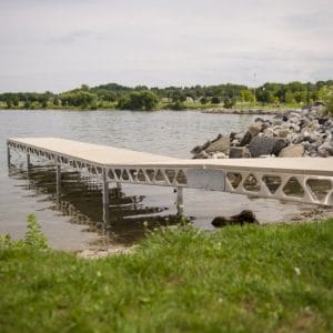 CanadaDocks Standing ramp and dock