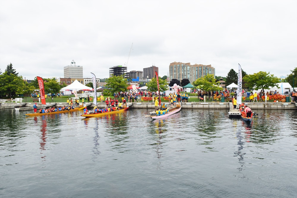 Barrie Dragon Boat Festival - CanadaDocks4