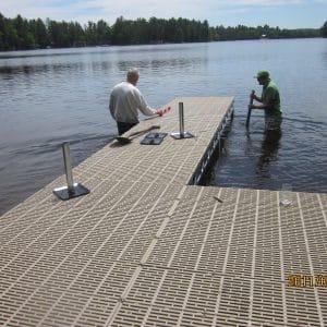 CanadaDocks Customers installing their own dock