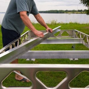Aluminum Pole Dock Assembly