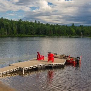 CanadaDocks do it yourself ramp, standing and floating dock pieces