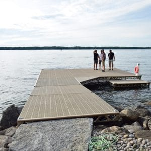 Standing Dock Installed on Kempenfelt Bay