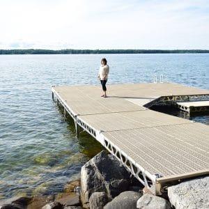 Kempenfelt Bay Standing Dock