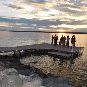 Kempenfelt Bay Dock Install