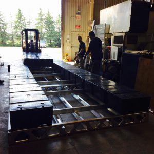 Installing Floats on Aluminum Dock Frame