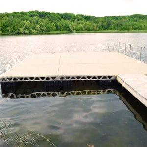 CanadaDocks 24x24 Floating Dock
