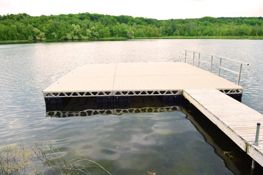 Installing Floating Docks In Ontario Canadadocks