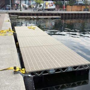 CanadaDocks Floating Docks Installation