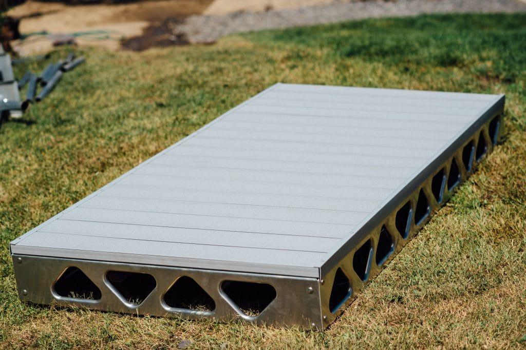 4x8 ramp with alphadeck