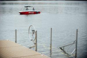 CanadaDocks 3000lbs boat lift.