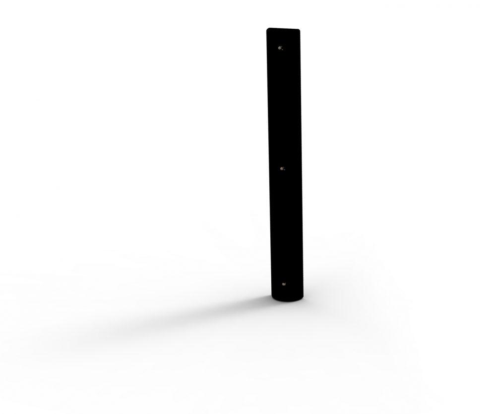 Black Vertical Black Dock Bumper