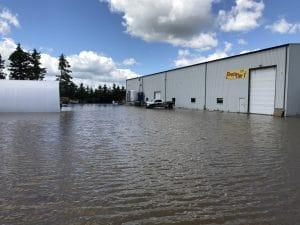 CanadaDocks Flood Parking Lot