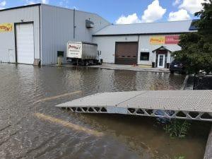 CanadaDocks Flood