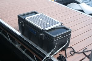 Hydraulic Boat Lift Solar System