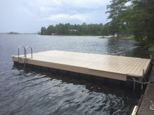 CanadaDocks floating dock