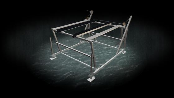 All aluminum 1200lb boat lift model