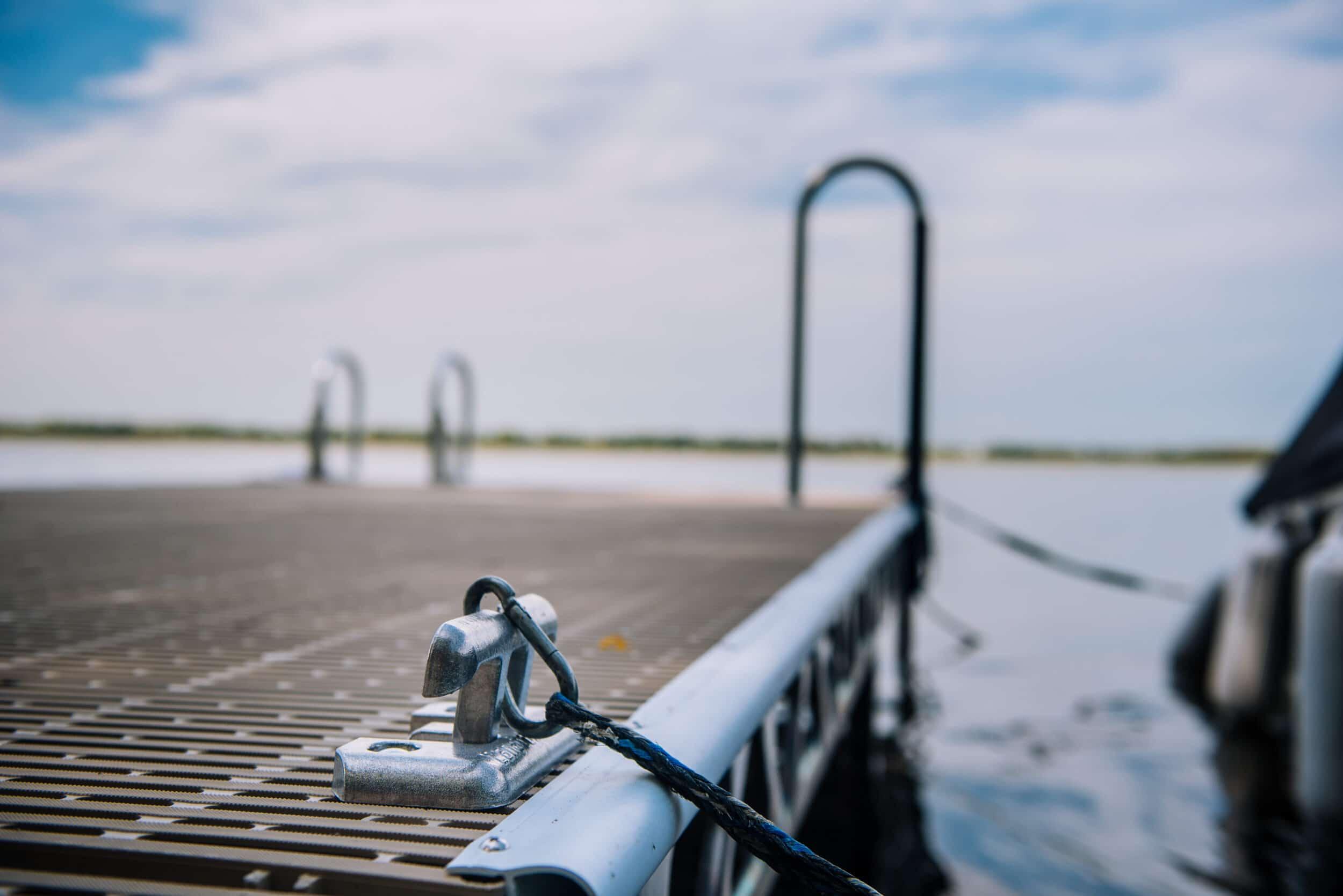 Dalyrmple Dock CanadaDocks Install