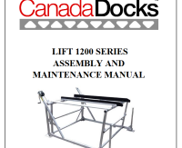 CanadaDocks 1200lb boat lift instructions