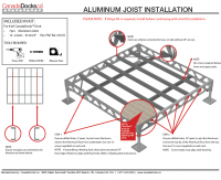 8x8 joist kit instructions