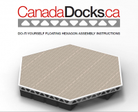 CanadaDocks floating hexagon do it yourself assembly instructions