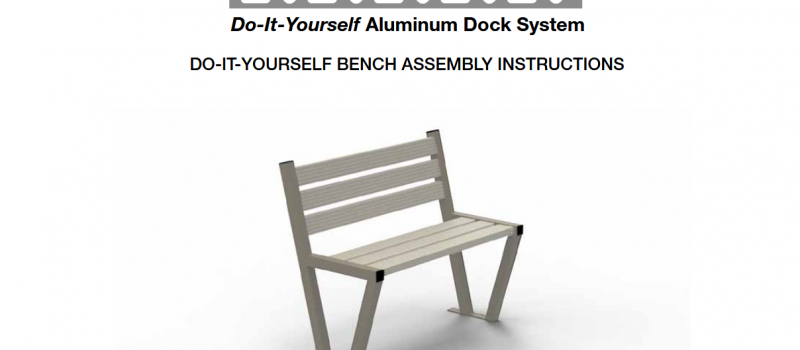 Bench installation instructions