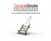 Dock stairs assembly instructions